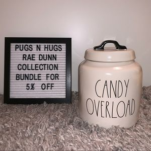 """Rae Dunn """"Candy Overload"""" Canister"""